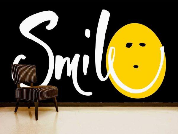 Vinilo Decorativo Smile | Carteles XXL - Impresión carteleria publicitaria