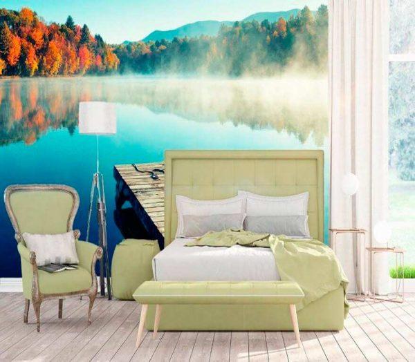Fotomural Lago | Carteles XXL - Impresión carteleria publicitaria
