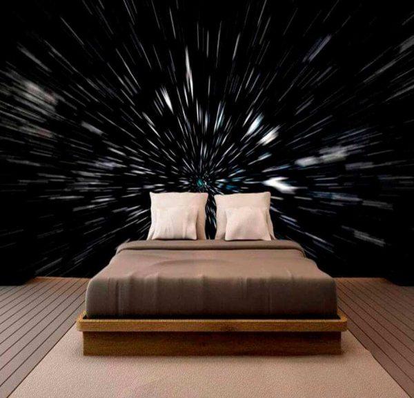 Fotomural Velocidad de la Luz | Carteles XXL - Impresión carteleria publicitaria