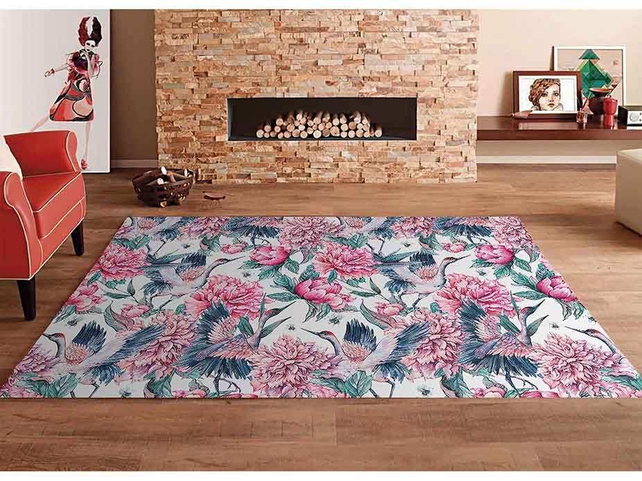 Alfombra PVC Ganso Floral | Carteles XXL - Impresión carteleria publicitaria