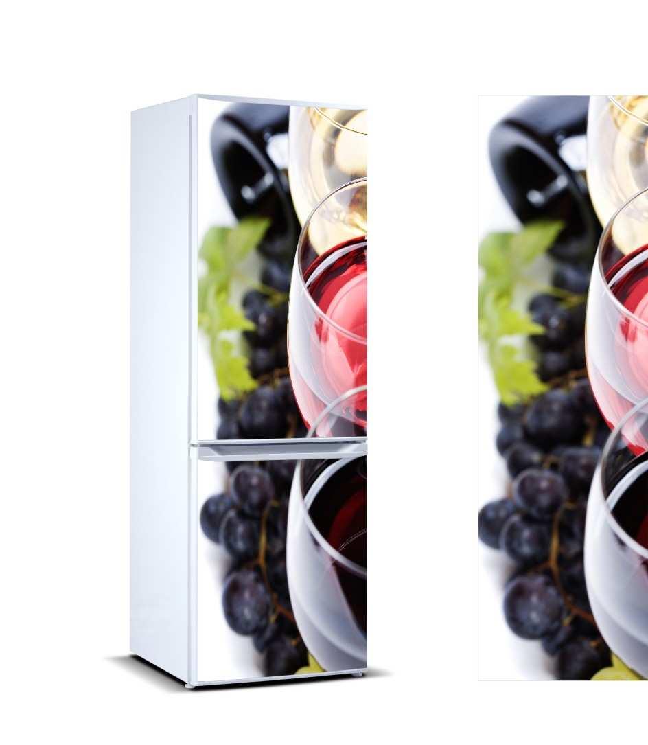 Vinilo Frigorífico Copa Vino | Carteles XXL - Impresión carteleria publicitaria