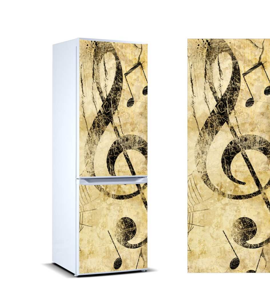 Vinilo Frigorífico Nota Música | Carteles XXL - Impresión carteleria publicitaria