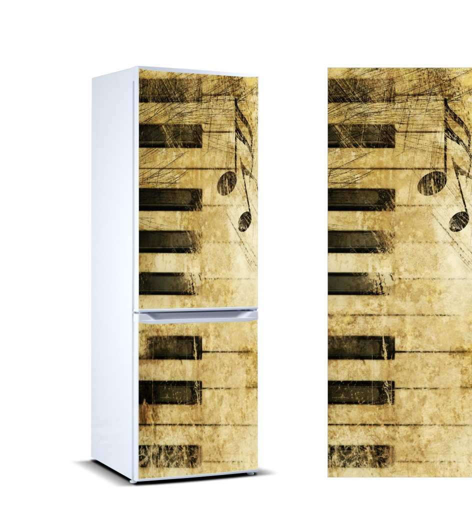 Vinilo Frigorífico Piano Antiguo | Carteles XXL - Impresión carteleria publicitaria