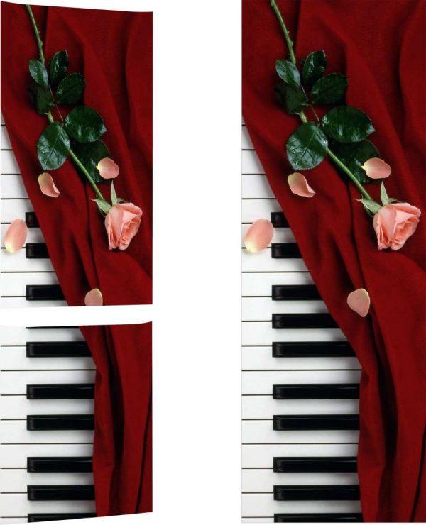 Vinilo Frigorífico Piano Nuevo | Carteles XXL - Impresión carteleria publicitaria