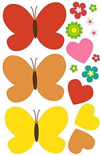 Pack Figuras Vinilo Blanco Mariposas 1 | Carteles XXL - Impresión carteleria publicitaria