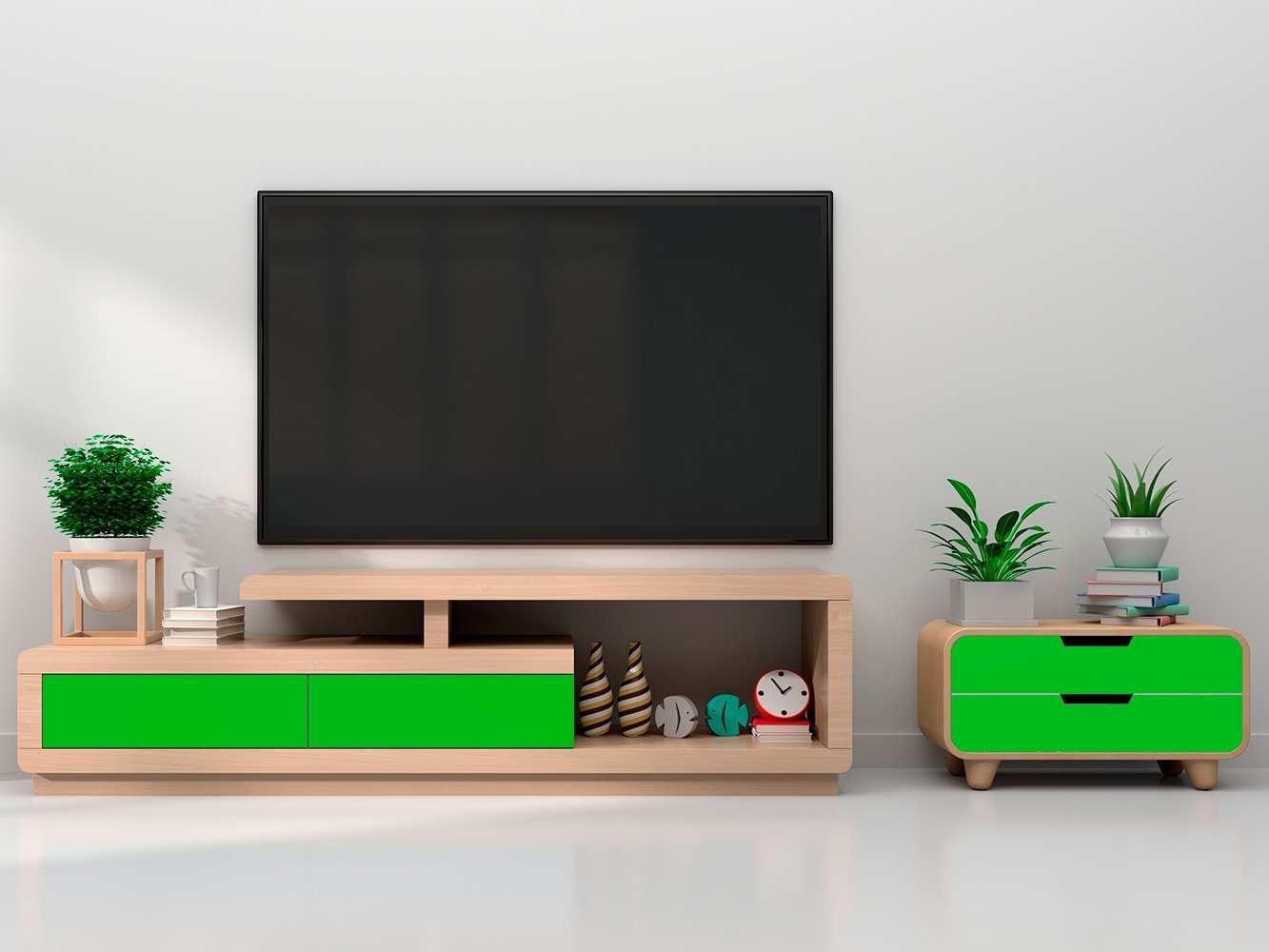 Vinilo Decorativo Mueble Verde | Carteles XXL - Impresión carteleria publicitaria