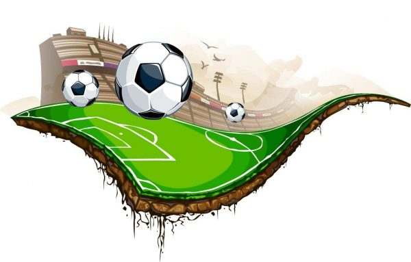 Vinilo Decorativo Campo de Fútbol   Carteles XXL - Impresión carteleria publicitaria