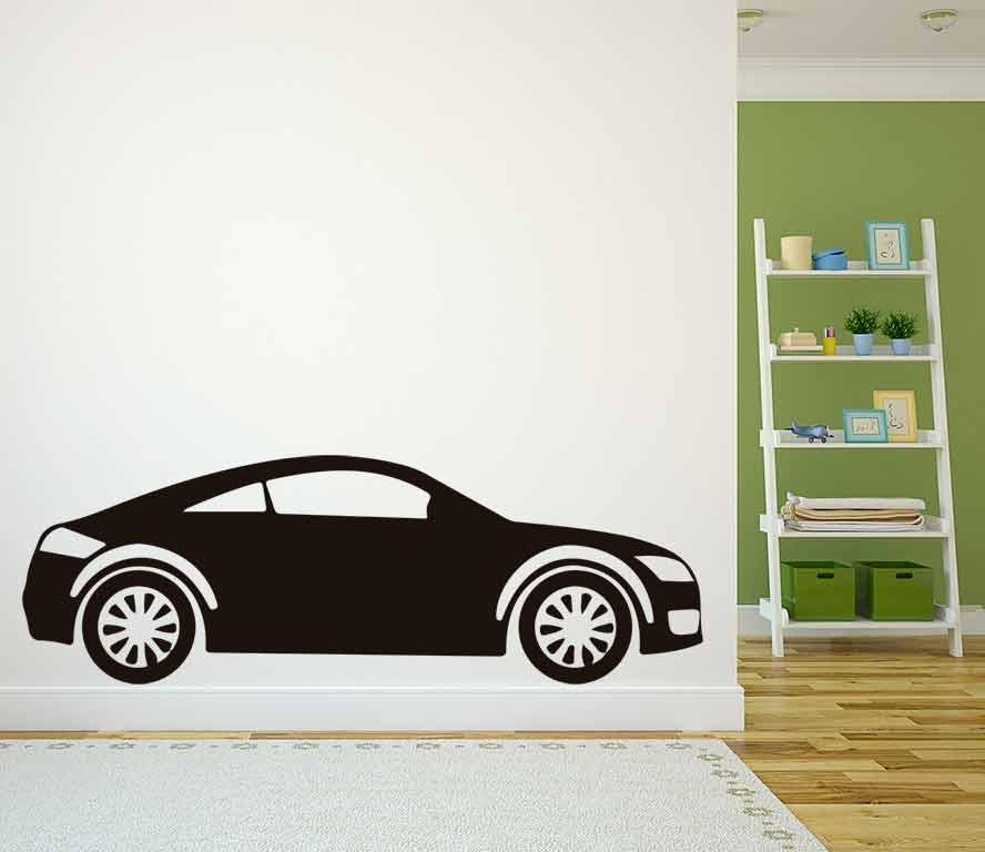 Vinilo decorativo coche deportivo | Carteles XXL - Impresión carteleria publicitaria