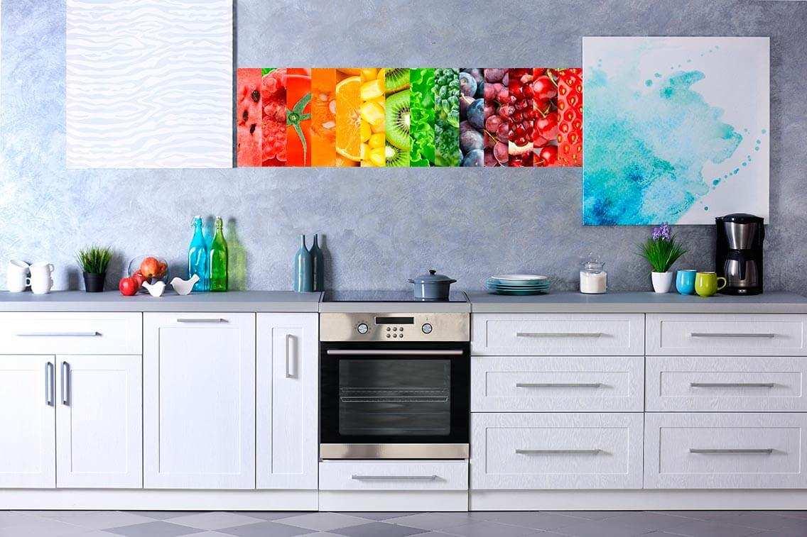 Vinilo Decorativo Cocina Fruta   Carteles XXL - Impresión carteleria publicitaria