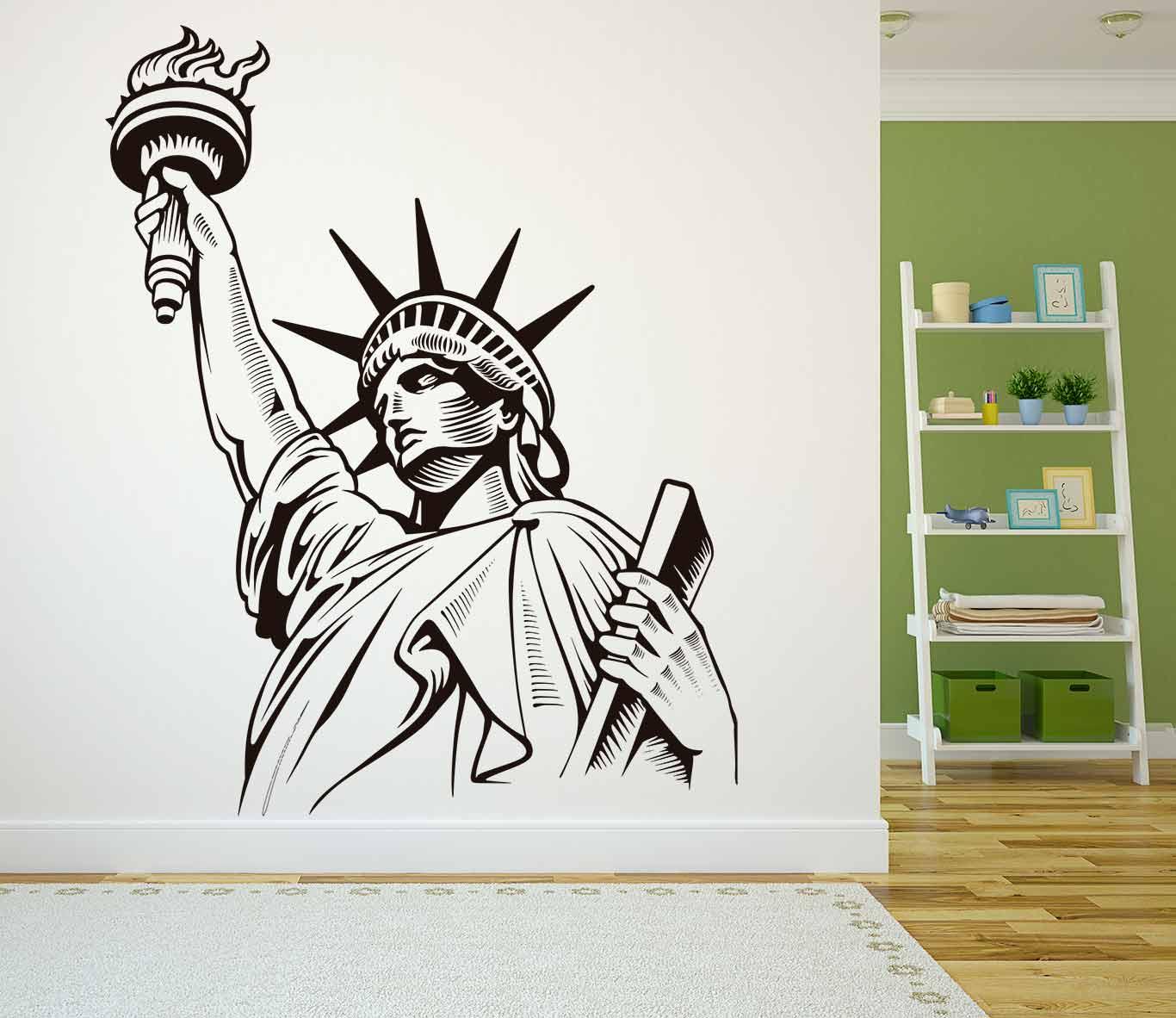 Vinilo decorativo Estatua de la Libertad | Carteles XXL - Impresión carteleria publicitaria