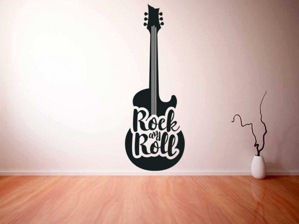 Vinilo decorativo guitarra electrica LP   Carteles XXL - Impresión carteleria publicitaria