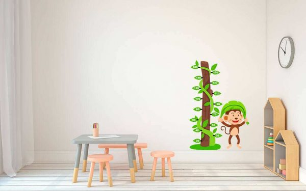 Vinilo Decorativo Infantil Árbol Medidor | Carteles XXL - Impresión carteleria publicitaria