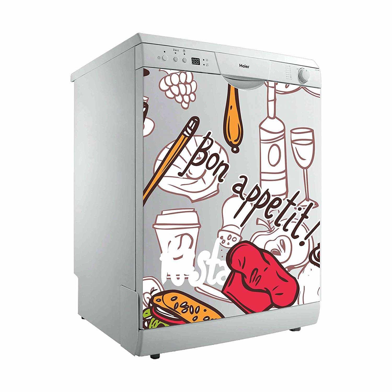 Vinilo Decorativo para Lavavajillas Bon Appetit | Carteles XXL - Impresión carteleria publicitaria