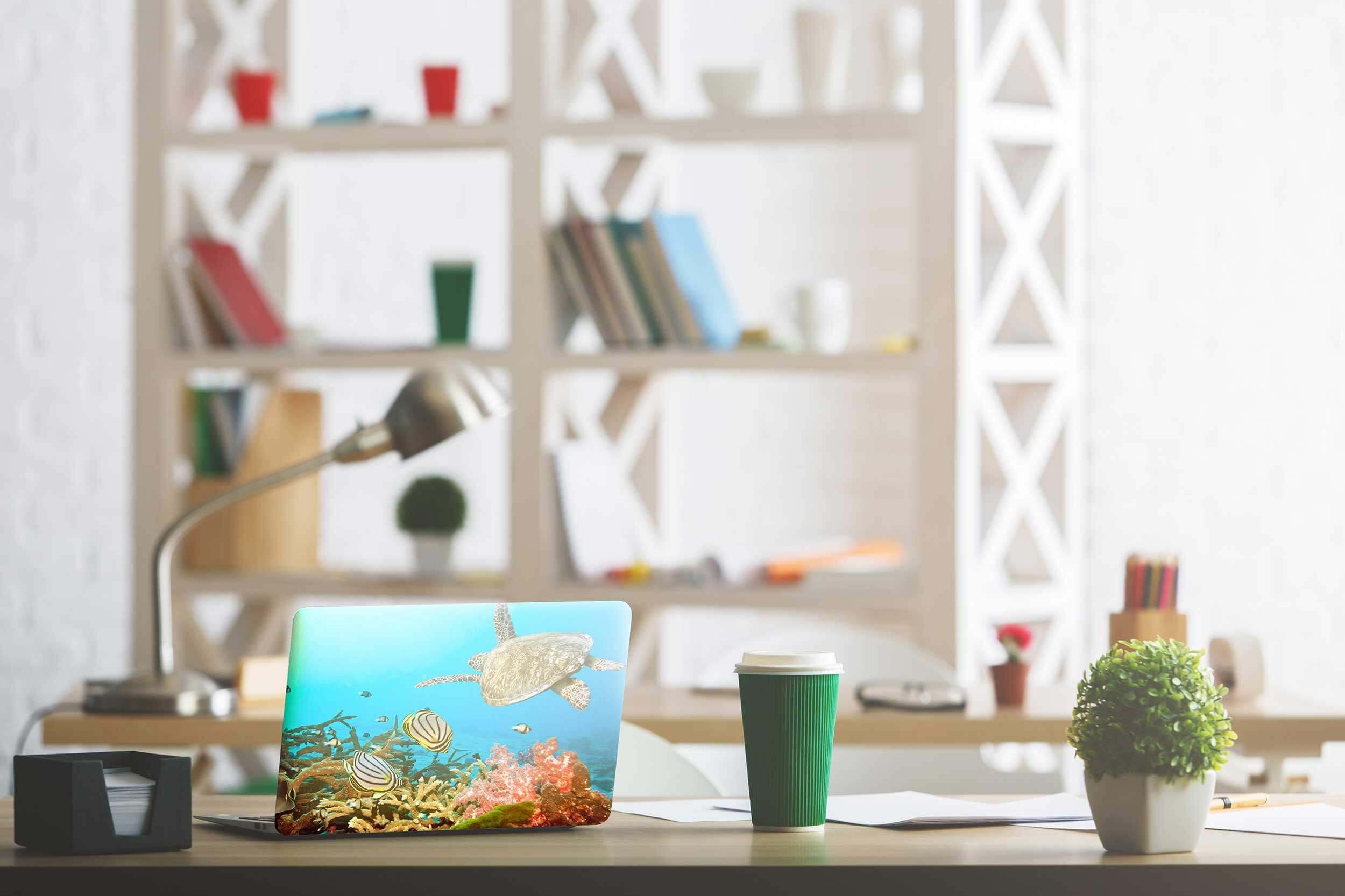 Vinilo Adhesivo para PC Portátil Animales Agua   Carteles XXL - Impresión carteleria publicitaria