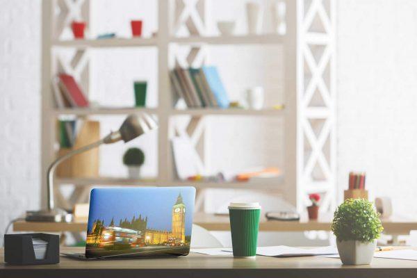 Vinilo Adhesivo para PC Portátil Big Ben | Carteles XXL - Impresión carteleria publicitaria