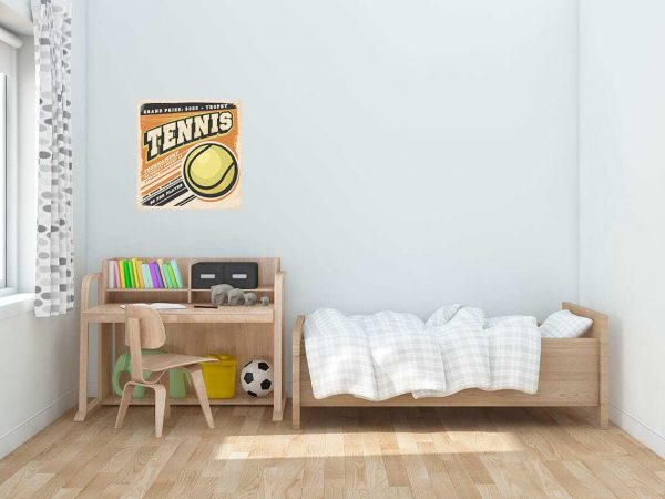 Vinilo Decorativo Tenis Vintage | Carteles XXL - Impresión carteleria publicitaria