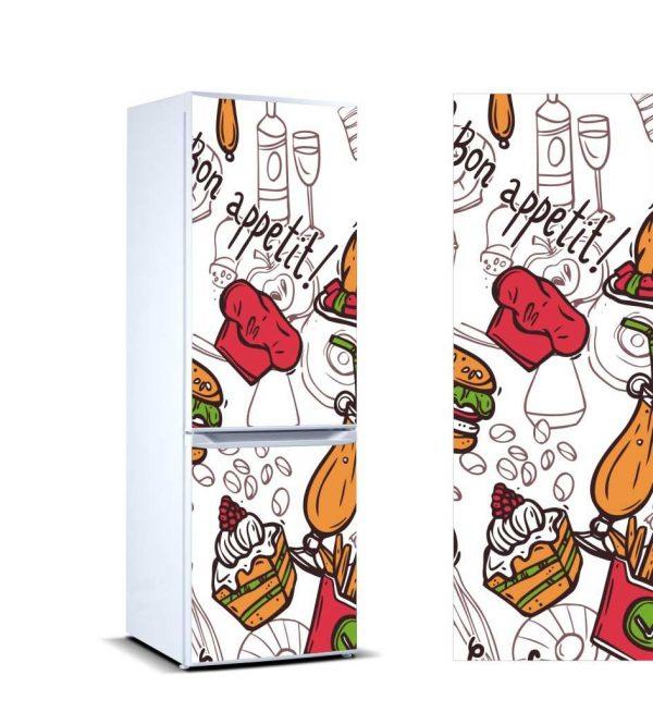 Vinilo Frigorífico Me Gusta Comer | Carteles XXL - Impresión carteleria publicitaria