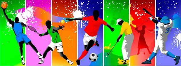 Vinilo Decorativo Deportes Color | Carteles XXL - Impresión carteleria publicitaria
