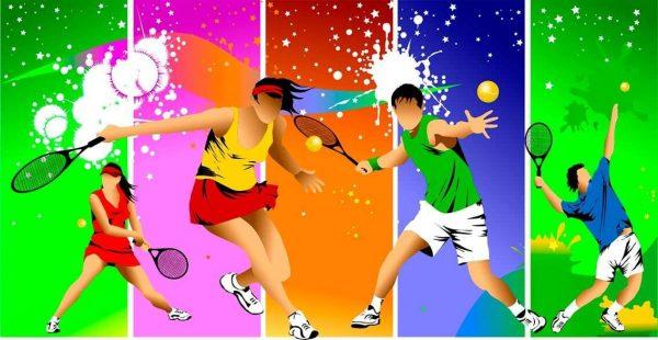 Vinilo Decorativo Tenis Color | Carteles XXL - Impresión carteleria publicitaria