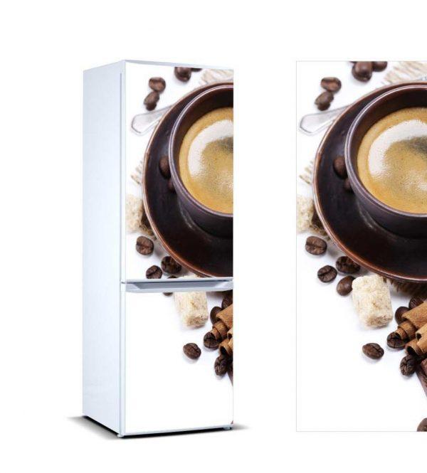 Vinilo Frigorífico Taza Café | Carteles XXL - Impresión carteleria publicitaria