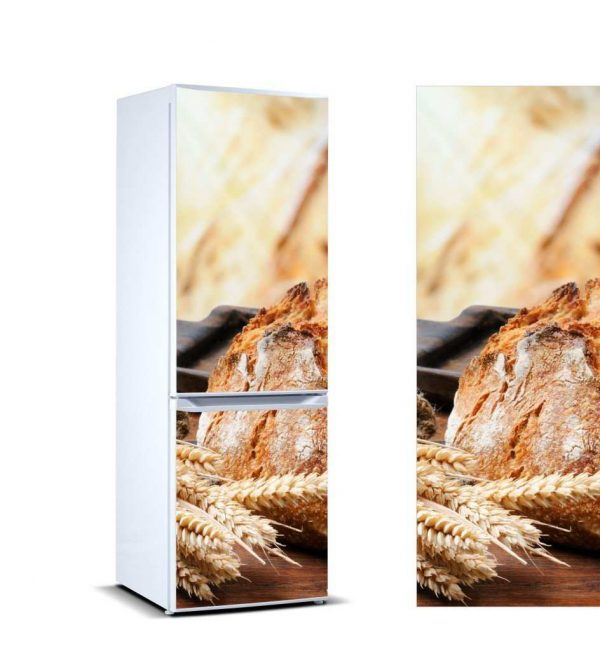Vinilo Frigorífico Trigo y Pan | Carteles XXL - Impresión carteleria publicitaria