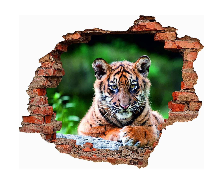 Vinilo 3D Tigre De Bengala   Carteles XXL - Impresión carteleria publicitaria