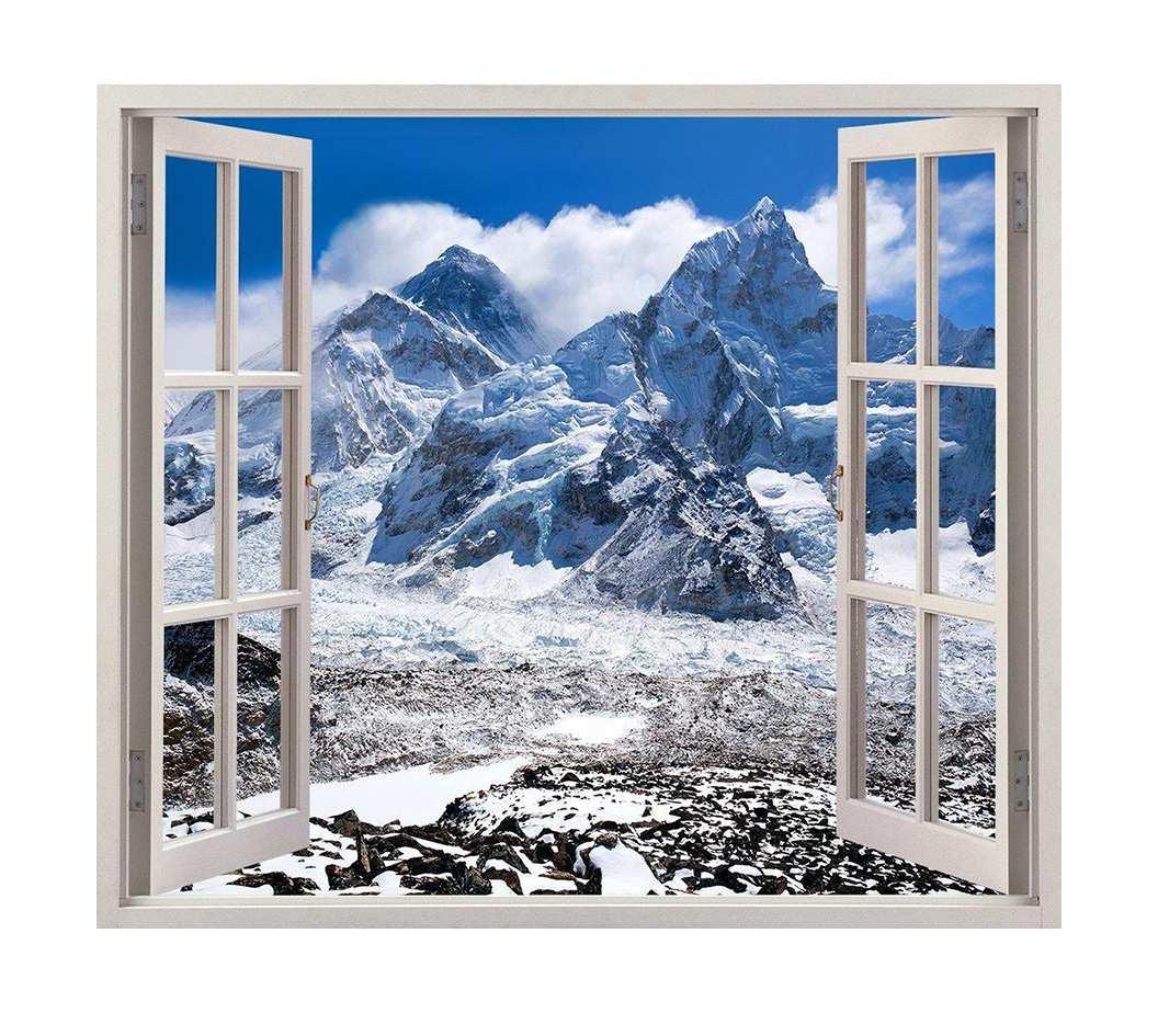 Vinilo Ventana Everest | Carteles XXL - Impresión carteleria publicitaria