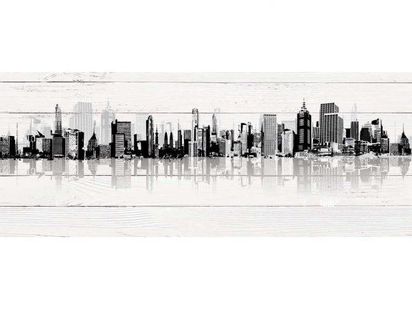 Cabecero Cama Edificios con Sombra | Carteles XXL - Impresión carteleria publicitaria
