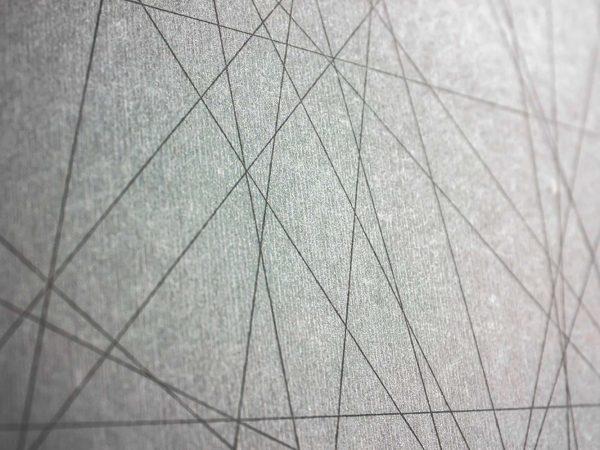 Alfombra PVC Abstracción Líneas Grises | Carteles XXL - Impresión carteleria publicitaria