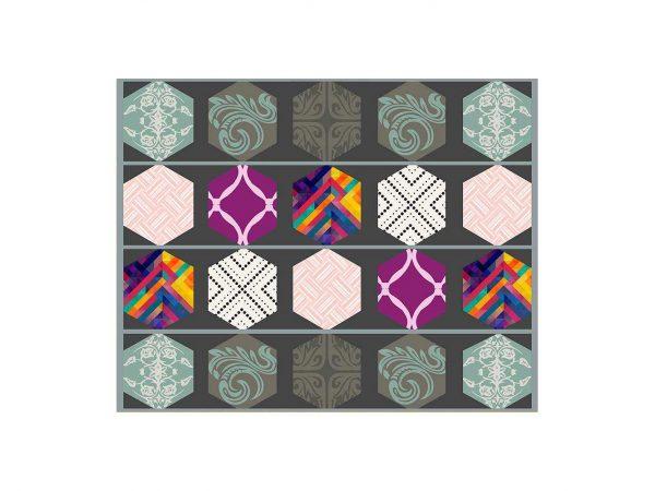 Alfombra PVC Azulejos Colores   Carteles XXL - Impresión carteleria publicitaria