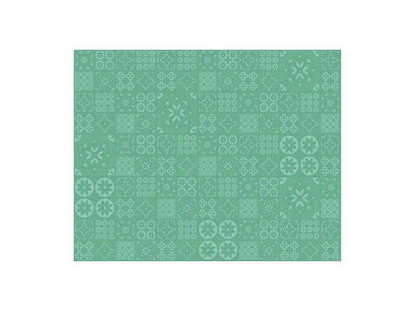 Alfombra PVC Geometría Verde | Carteles XXL - Impresión carteleria publicitaria