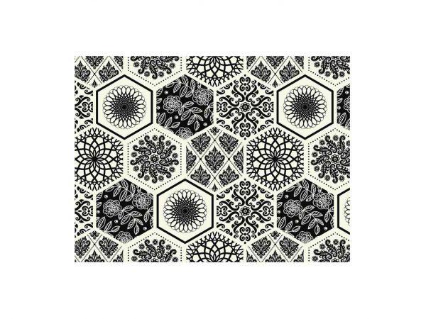 Alfombra PVC Hexágonos Abstractos | Carteles XXL - Impresión carteleria publicitaria