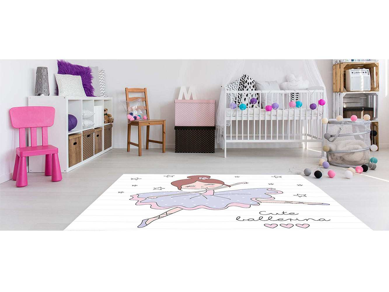 Alfombra PVC Infantil Bailarina   Carteles XXL - Impresión carteleria publicitaria