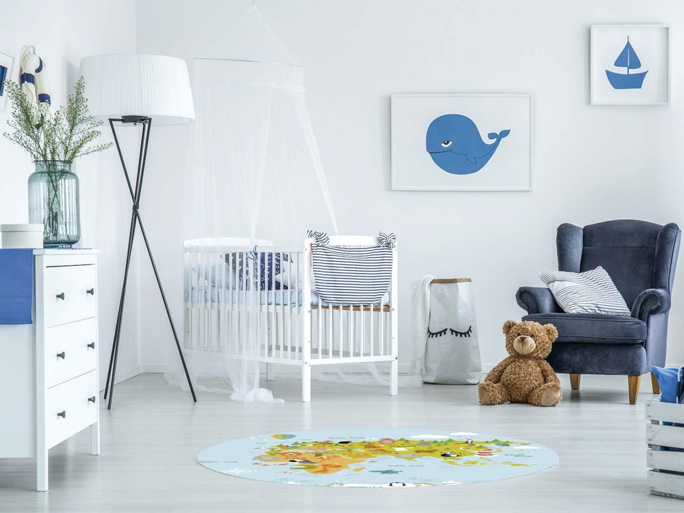 Alfombra PVC Infantil Eurasia | Carteles XXL - Impresión carteleria publicitaria