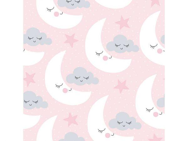 Alfombra PVC Infantil Lunas Nubes   Carteles XXL - Impresión carteleria publicitaria