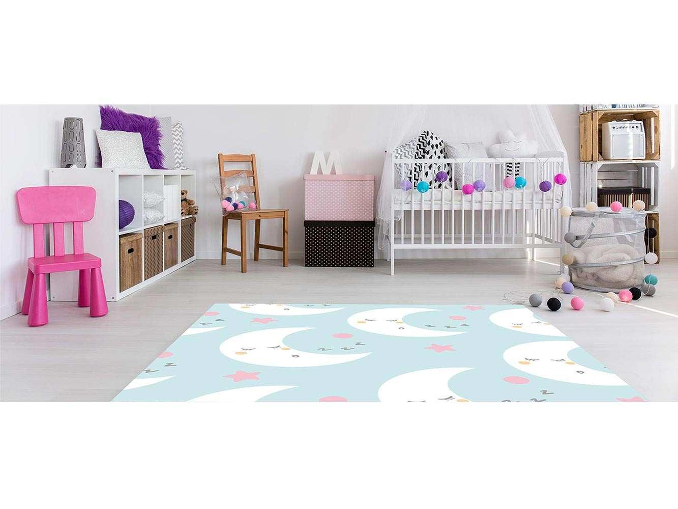 Alfombra PVC Infantil Sueños Lunas | Carteles XXL - Impresión carteleria publicitaria