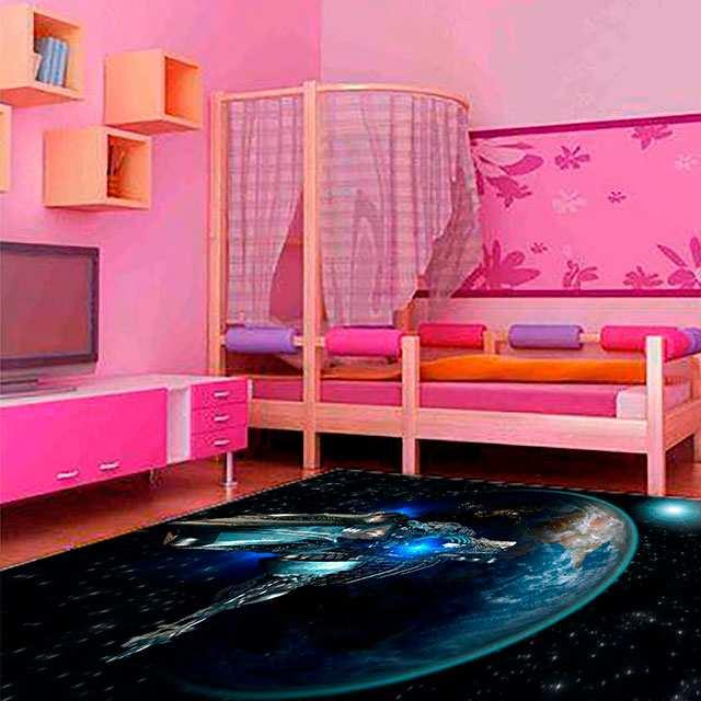 Alfombra Infantil Nave Espacial | Carteles XXL - Impresión carteleria publicitaria
