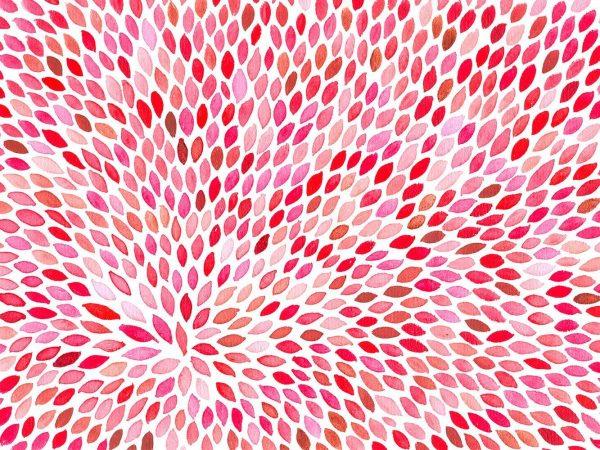 Alfombra PVC Plumas Rosas a Mano | Carteles XXL - Impresión carteleria publicitaria