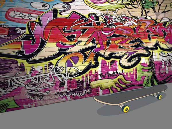 Alfombra PVC Skate Hip-Hop   Carteles XXL - Impresión carteleria publicitaria