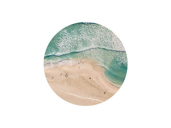 Alfombra Redonda Orilla Playa | Carteles XXL - Impresión carteleria publicitaria