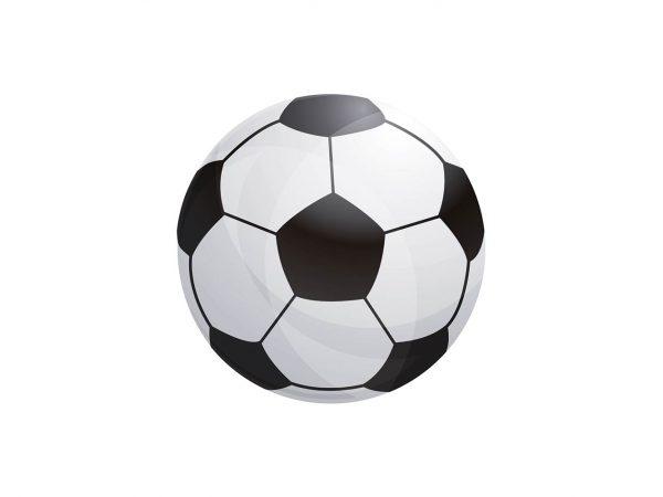 Alfombra Redonda Pelota Fútbol   Carteles XXL - Impresión carteleria publicitaria
