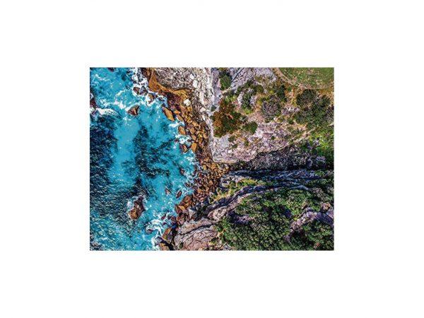 Alfombra Redonda Playa Rocosa | Carteles XXL - Impresión carteleria publicitaria