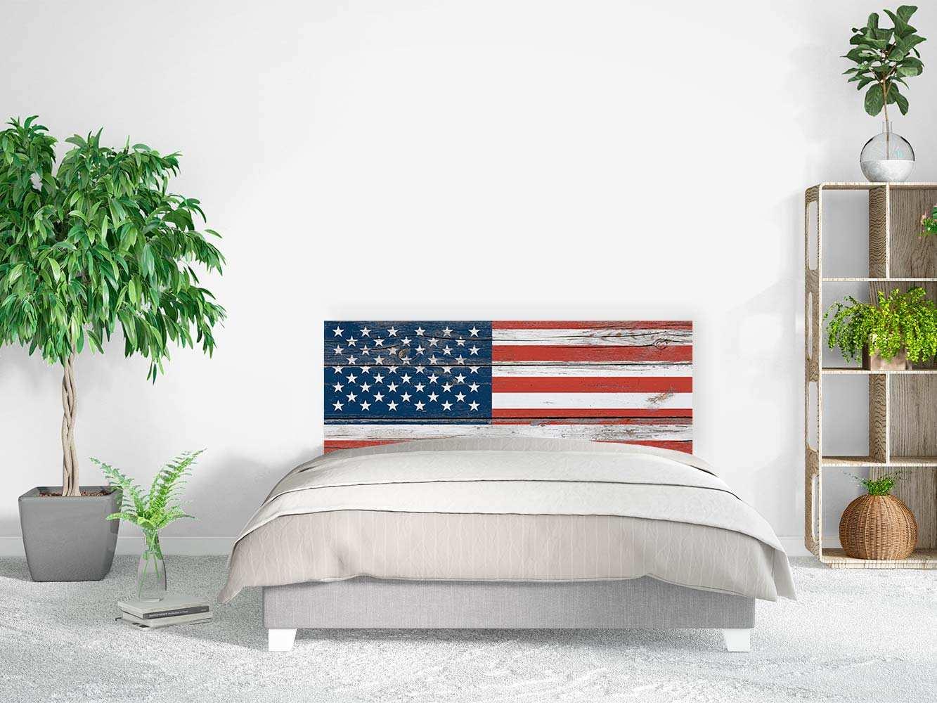 Cabecero Cama Bandera Estados Unidos   Carteles XXL - Impresión carteleria publicitaria