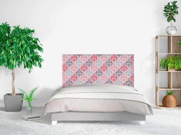 Cabecero Cama Damasco Floral   Carteles XXL - Impresión carteleria publicitaria