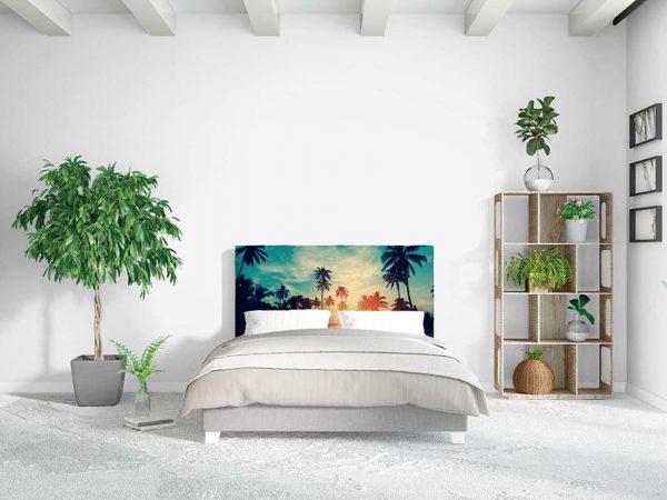 Cabecero Cama Paisajes Playas Caribeñas | Carteles XXL - Impresión carteleria publicitaria