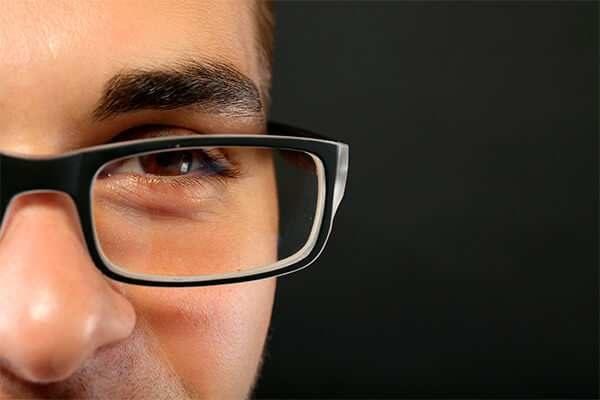 Cartel Ópticas chico con gafas | Carteles XXL - Impresión carteleria publicitaria