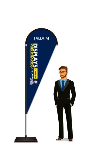 Fly Banner Tipo Gota Talla M | Carteles XXL - Impresión carteleria publicitaria