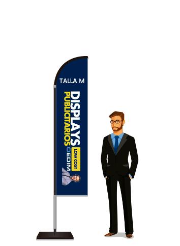 Fly Banner Tipo Vela Talla M | Carteles XXL - Impresión carteleria publicitaria