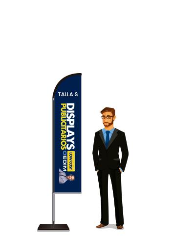 Fly Banner Tipo Vela Talla S | Carteles XXL - Impresión carteleria publicitaria