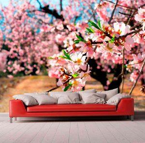 Fotomurales de Flores